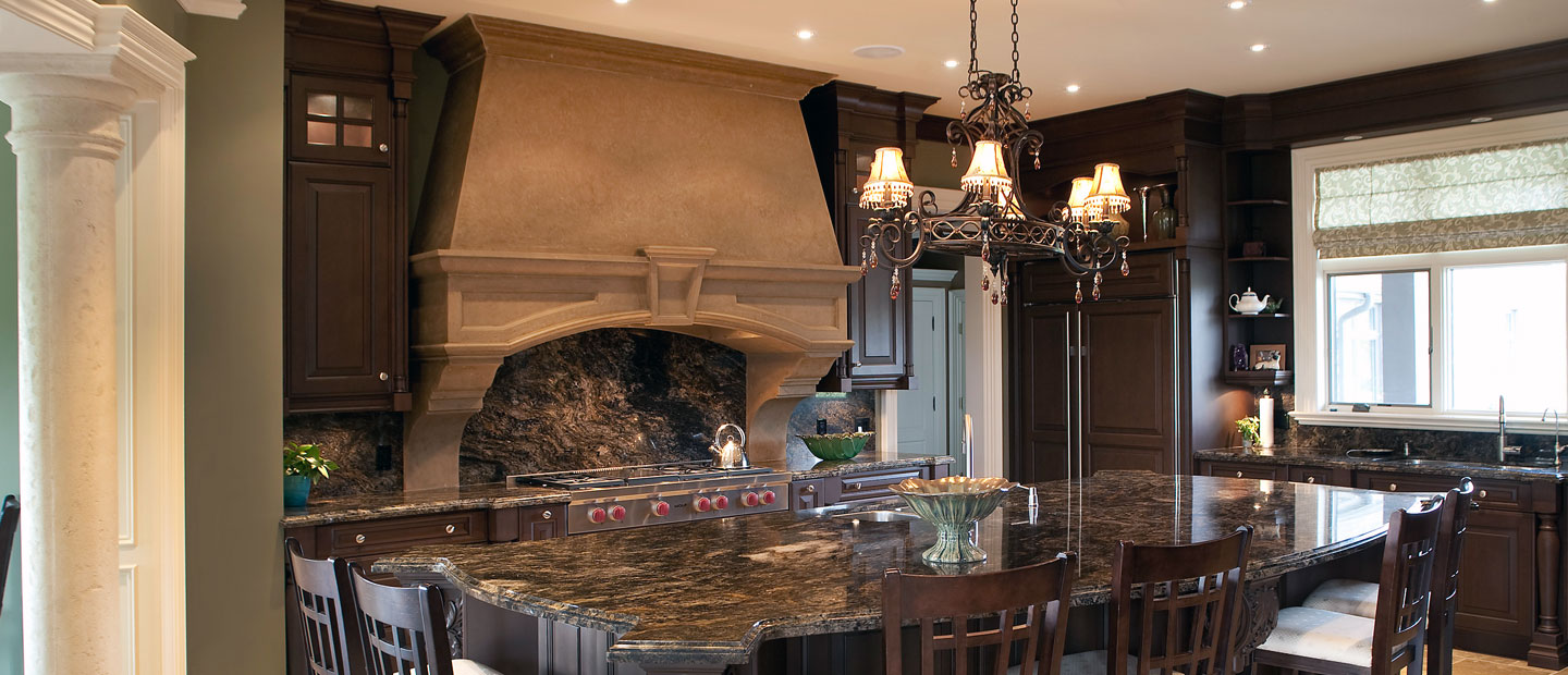 Stone Range Hoods ~ Find stone kitchen hoods in the us and canada omega